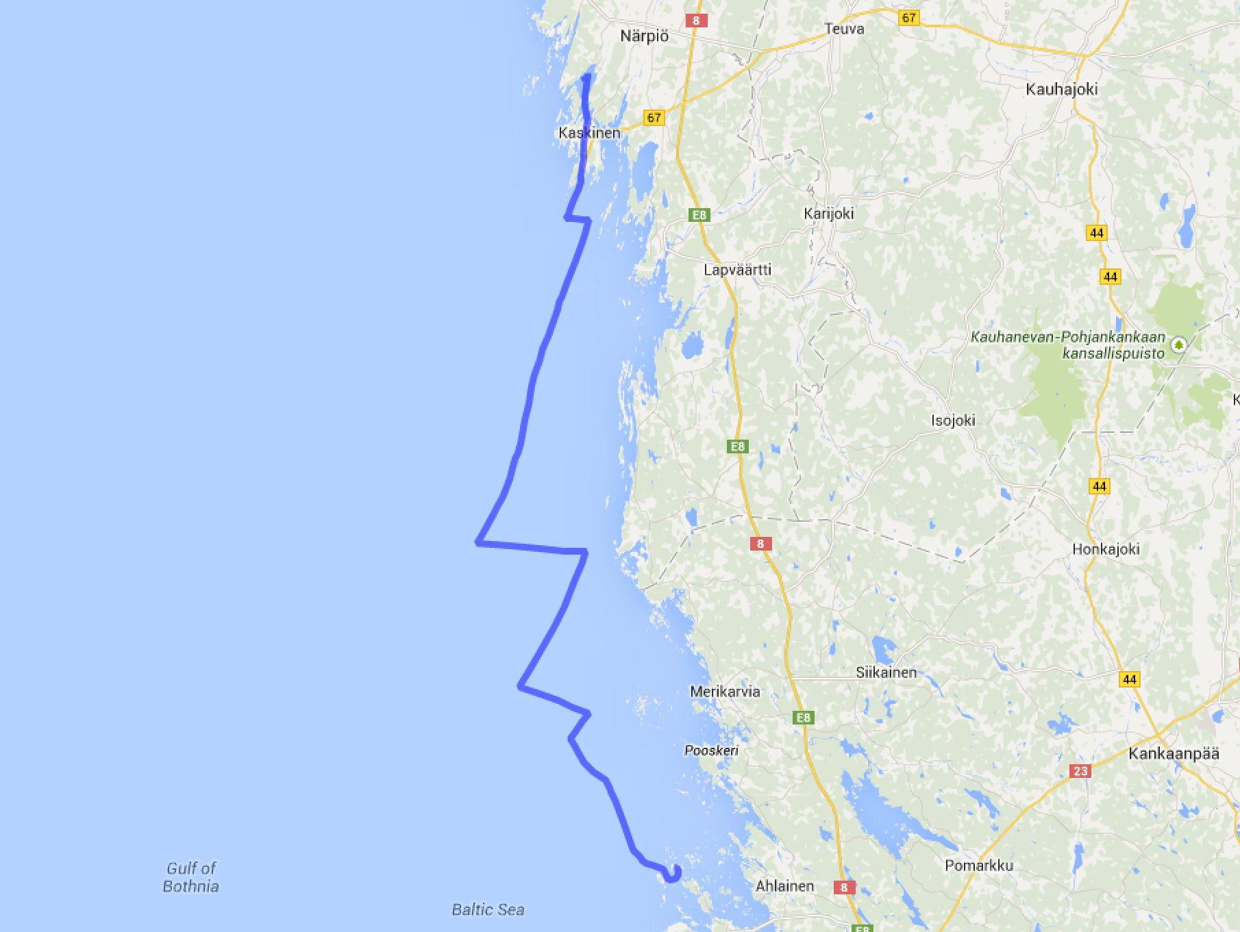 Seliskeri - Kaskinen/Strömsviken