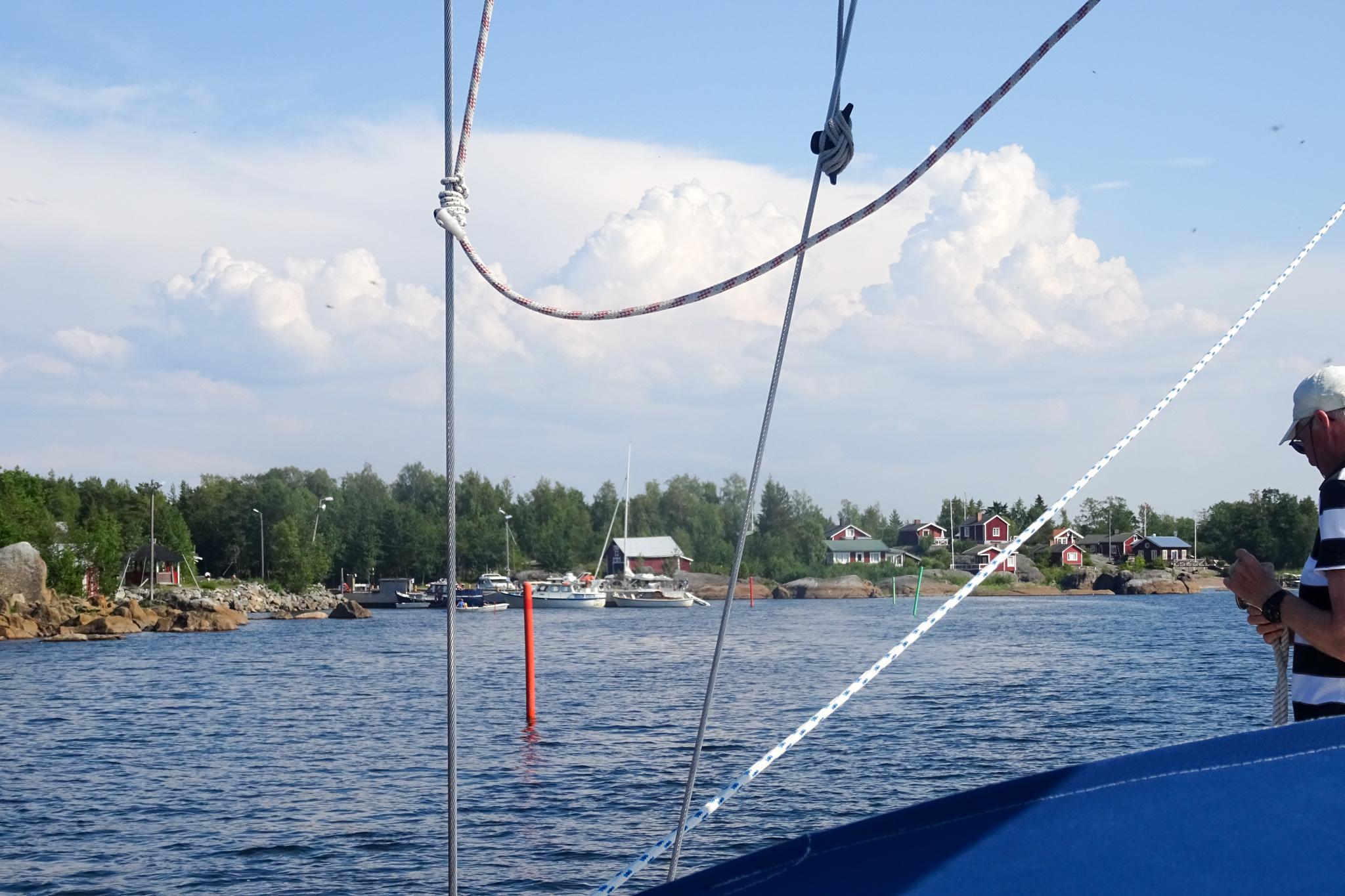 Kleiner Hafen von Mässkär