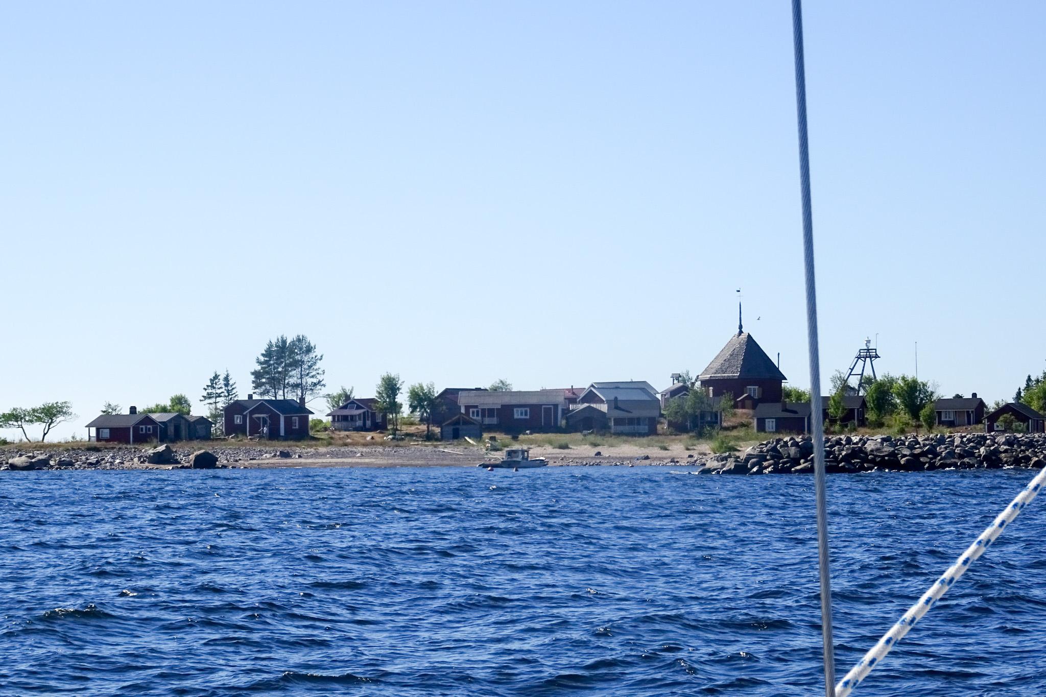 Hafeneinfahrt von Makalla