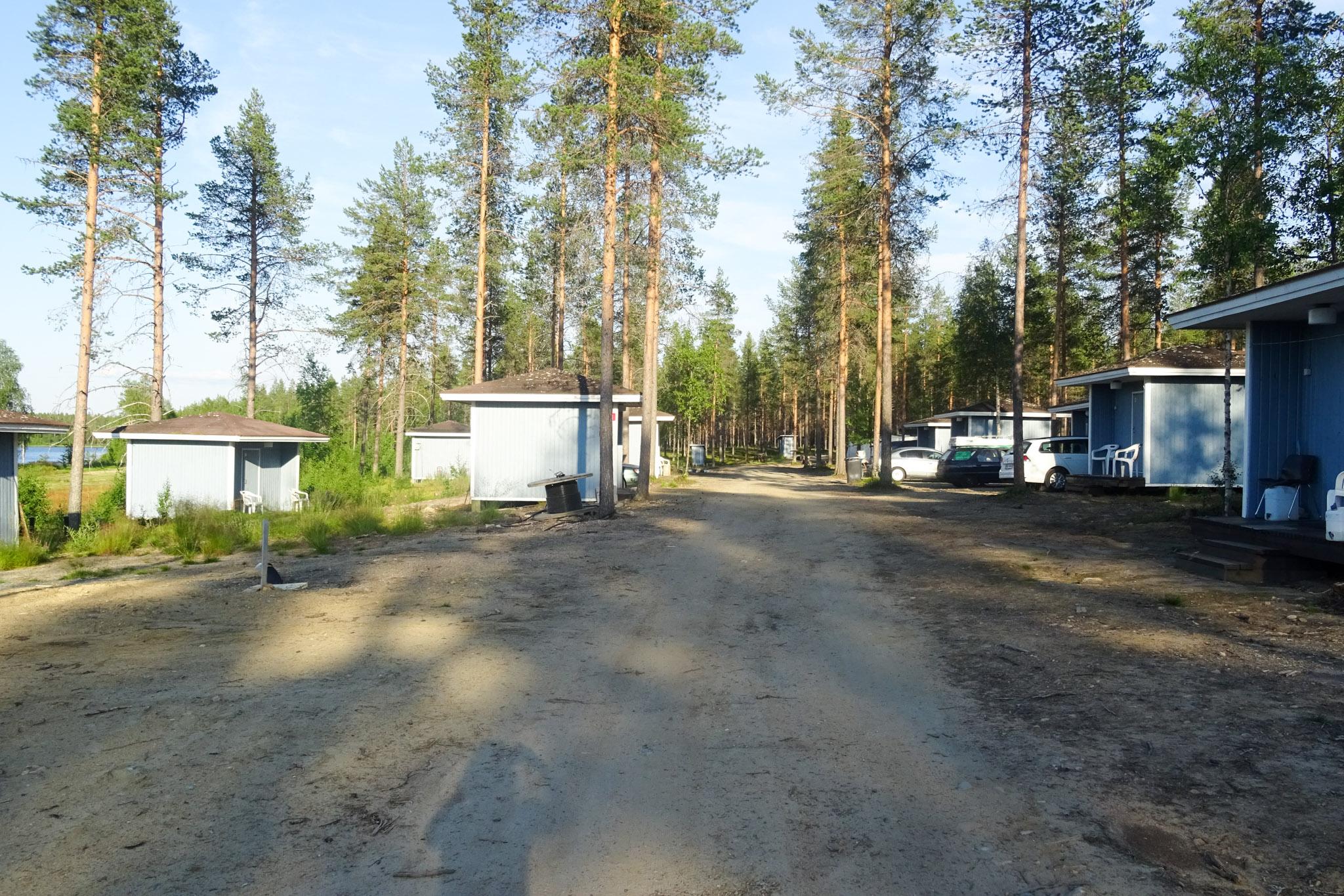 Campingplatz mit Mökkis
