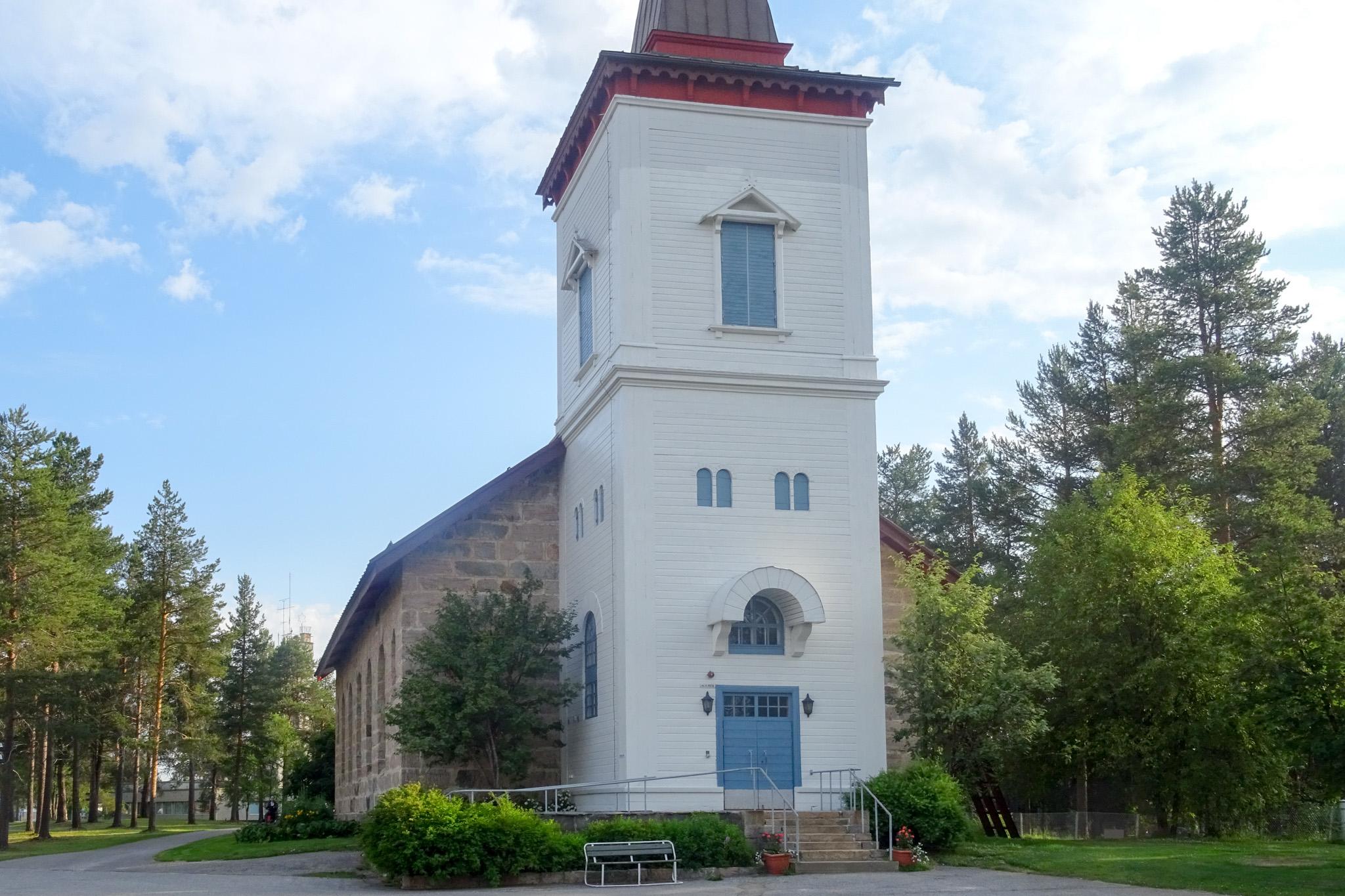 Neue Kirche in Sodankyla