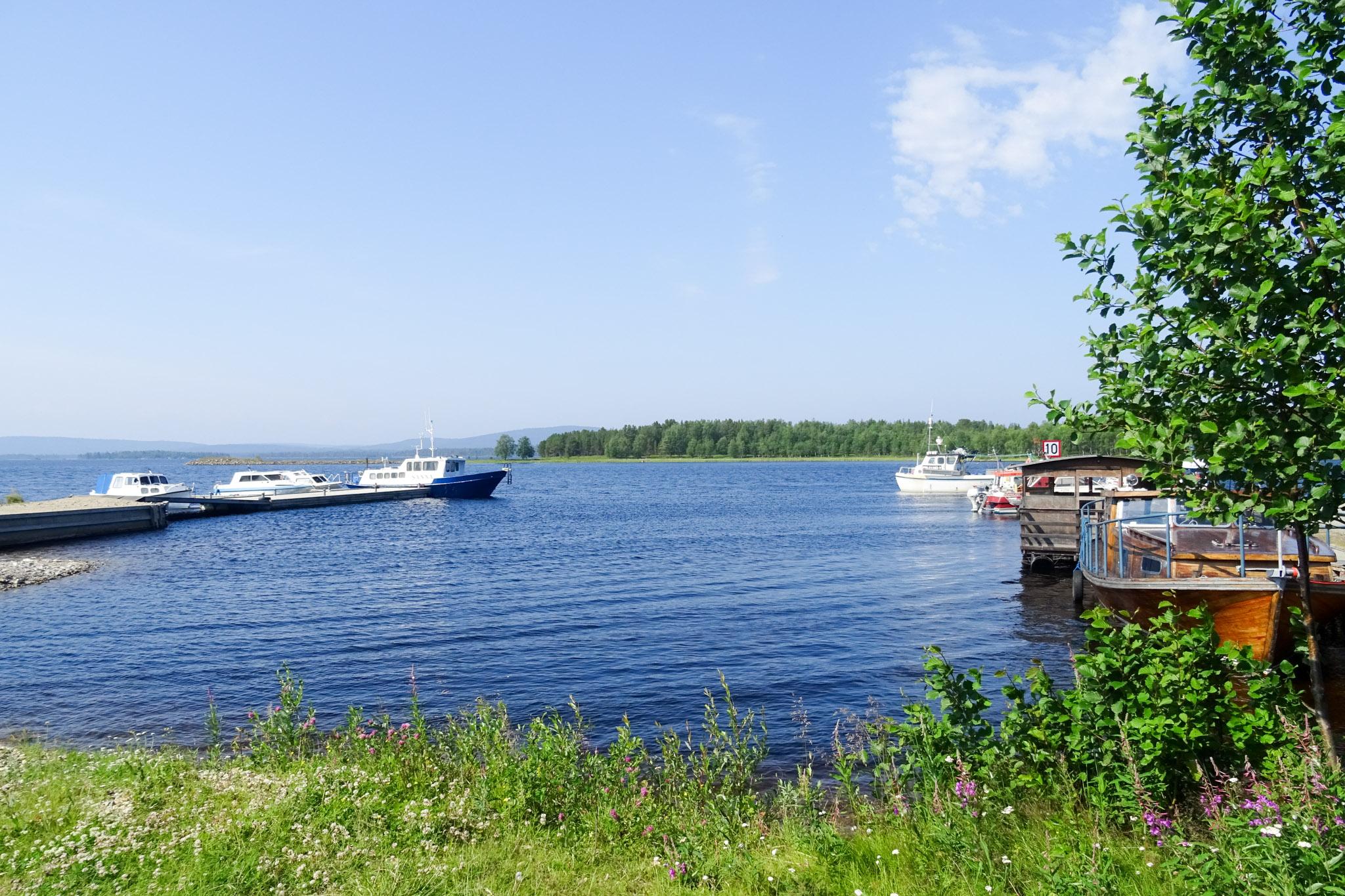 Sportboothafen am Inar-See