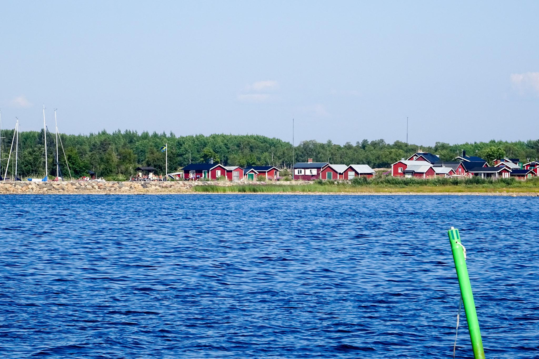 Hafen und Ort Haparanda-Sandskär