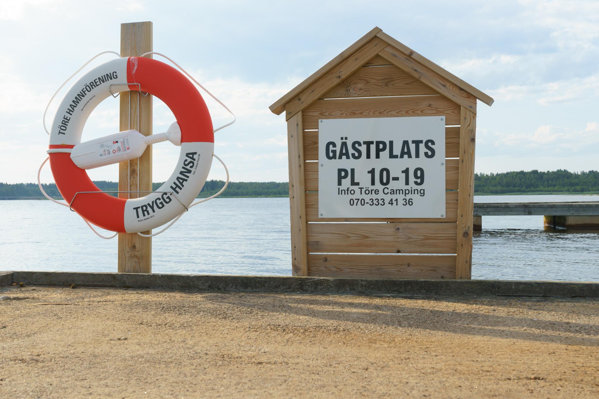 Kleiner Hafen Törehamn ...