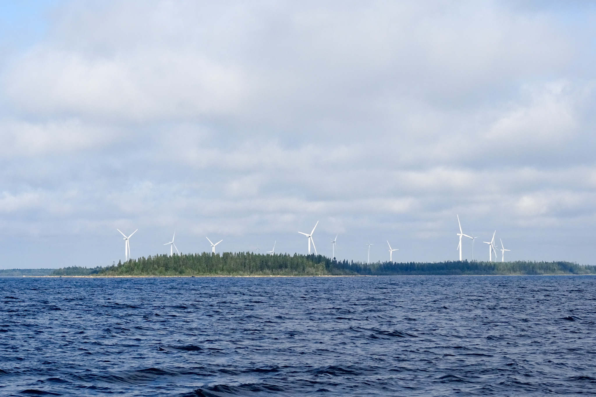 Windpark unterwegs