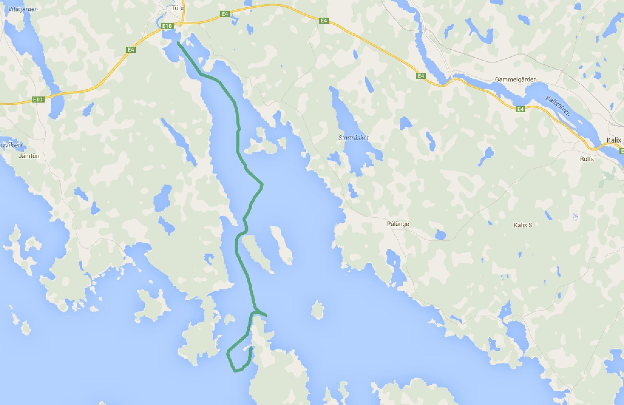 Törehamn - Holsterviken