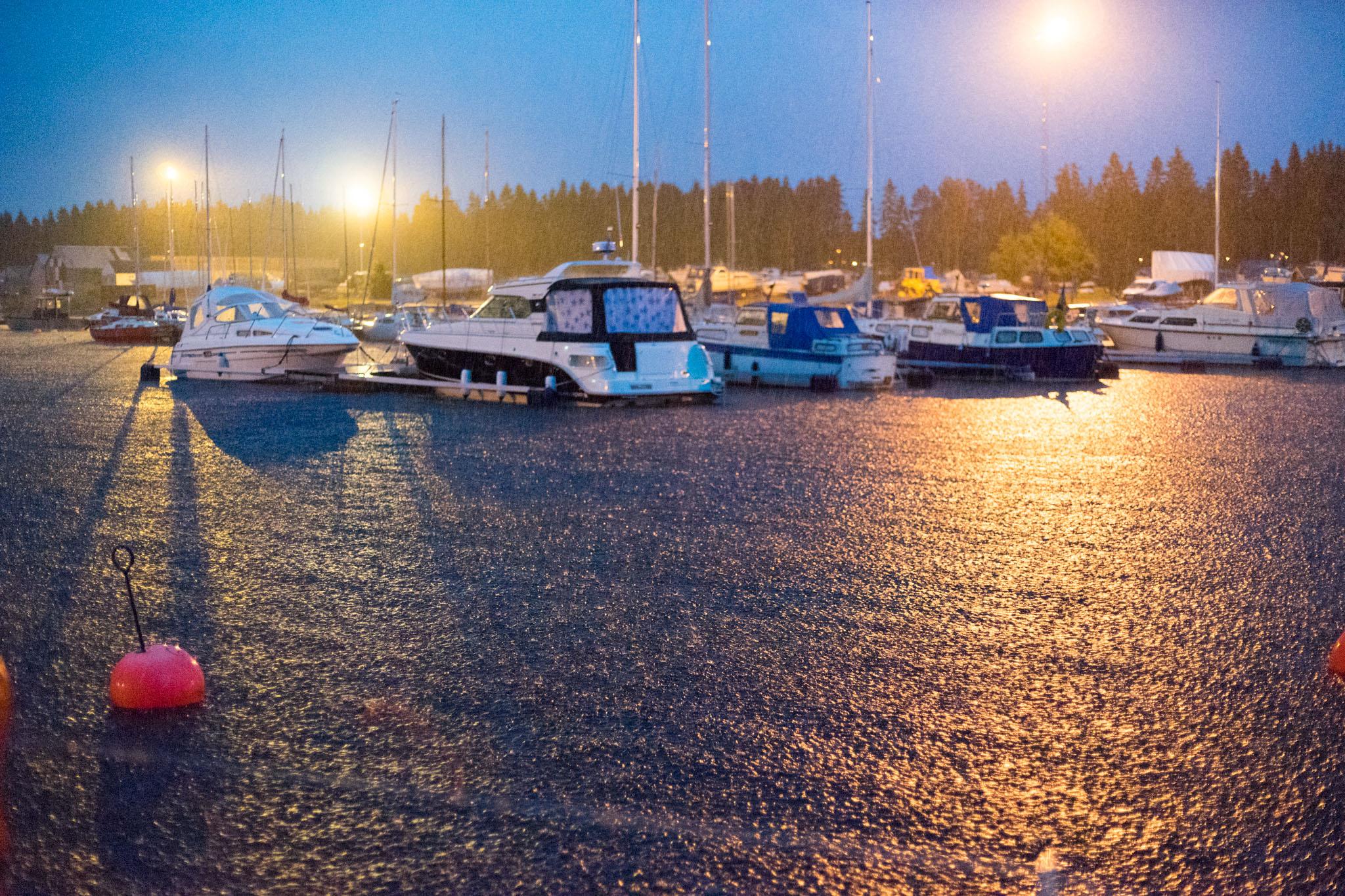 Abendstimmung in Umea