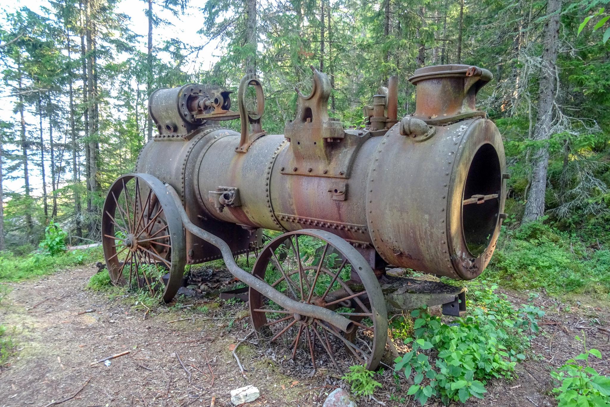 Dampfmaschine ...