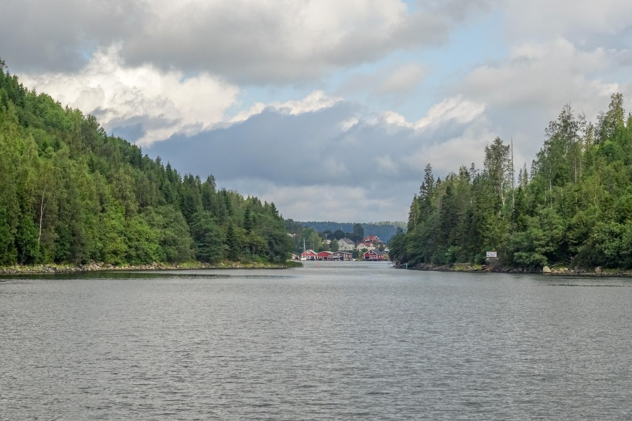Fahrwasser nach Häggvik
