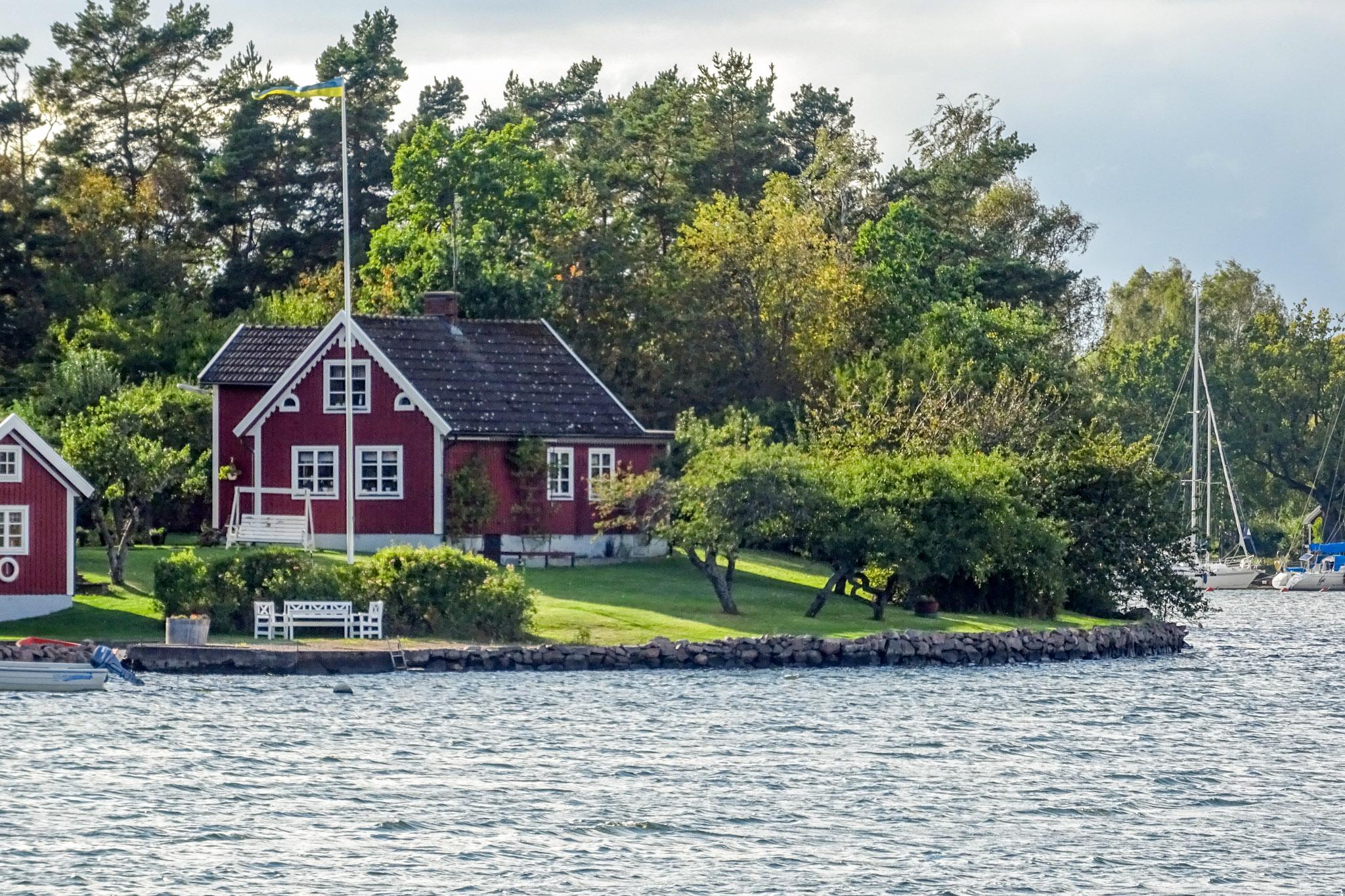 Am Fahrwasser nach Figeholm