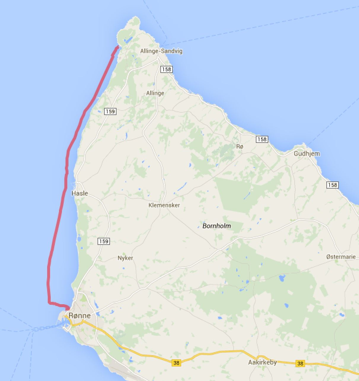 Hammershavnen - Roenne