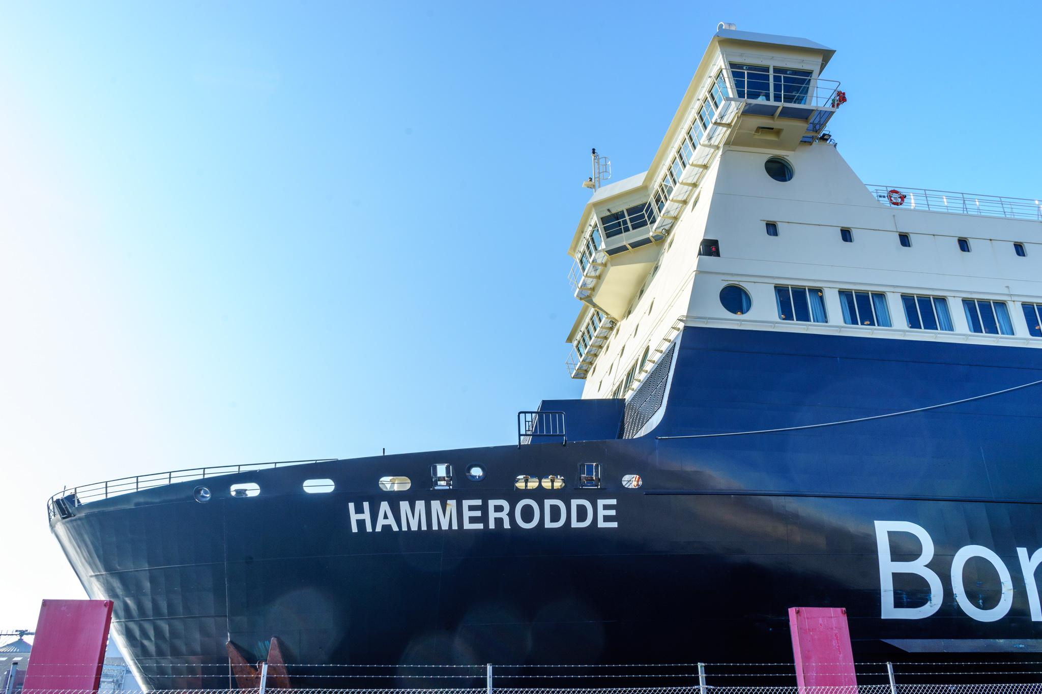 """Hammerodde"" mit Michaela und Jörg an Bord"