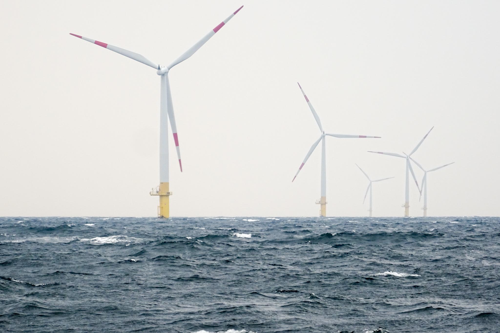 Windpark, einfach im Weg :-)
