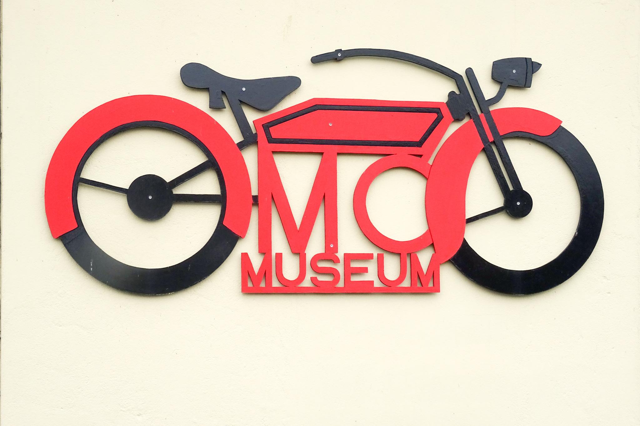 Selbst das Motorrad und Radiomuseum hat geschlossen