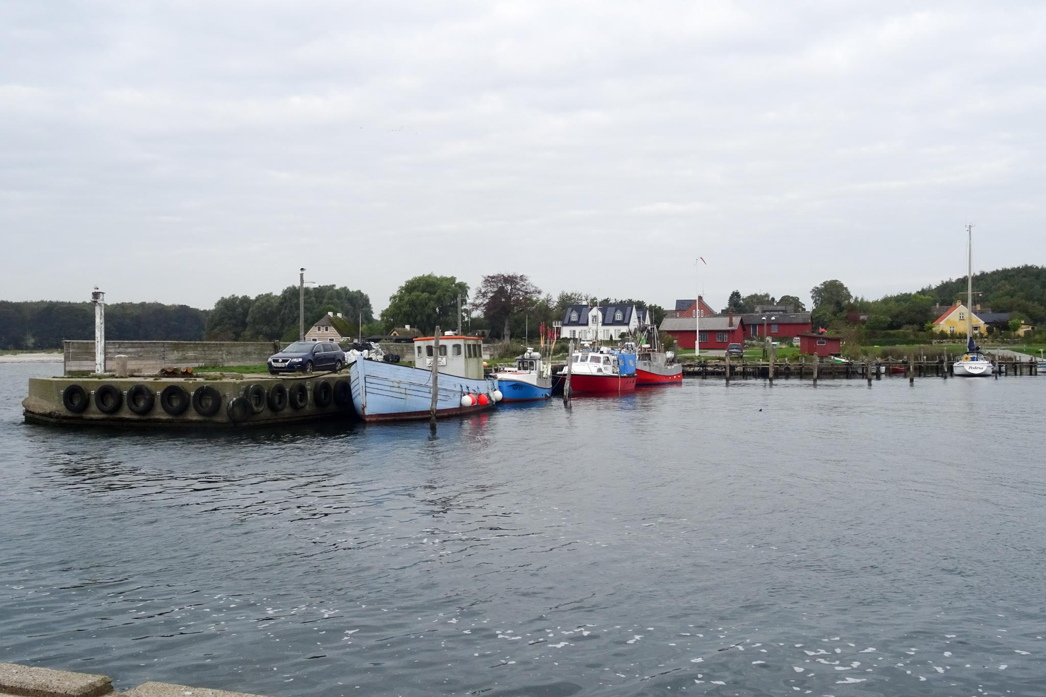 Hesnaes - Fischereihafen