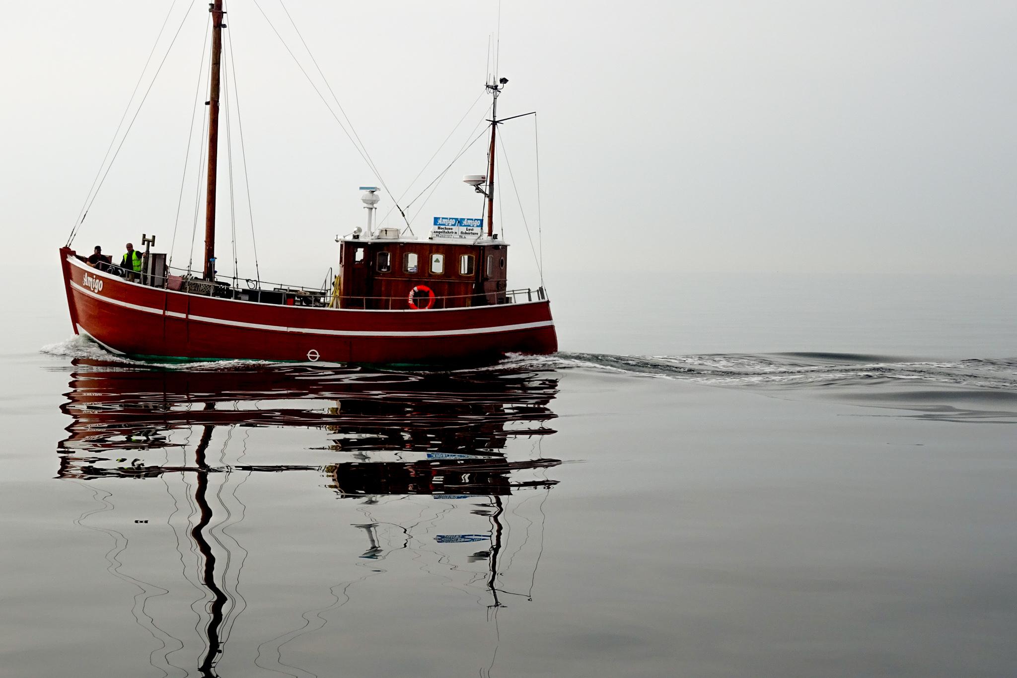 Still und starr ruht die Ostsee