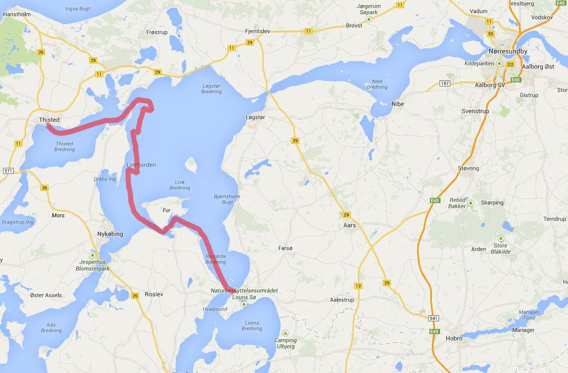 Thisted - Hvalpsund