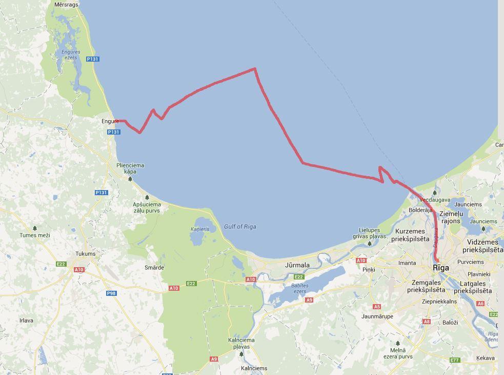 Riga -Engure