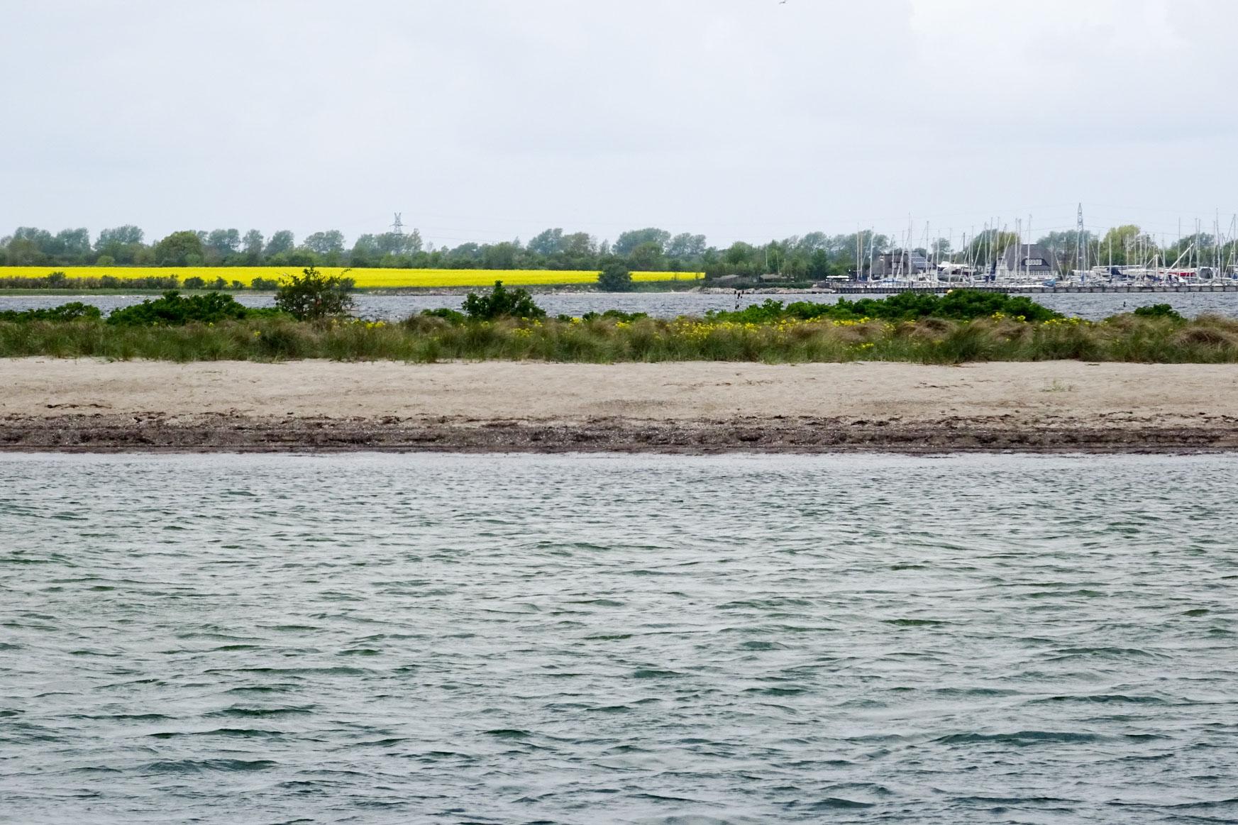 Ostsee und Großenbroder Binnensee