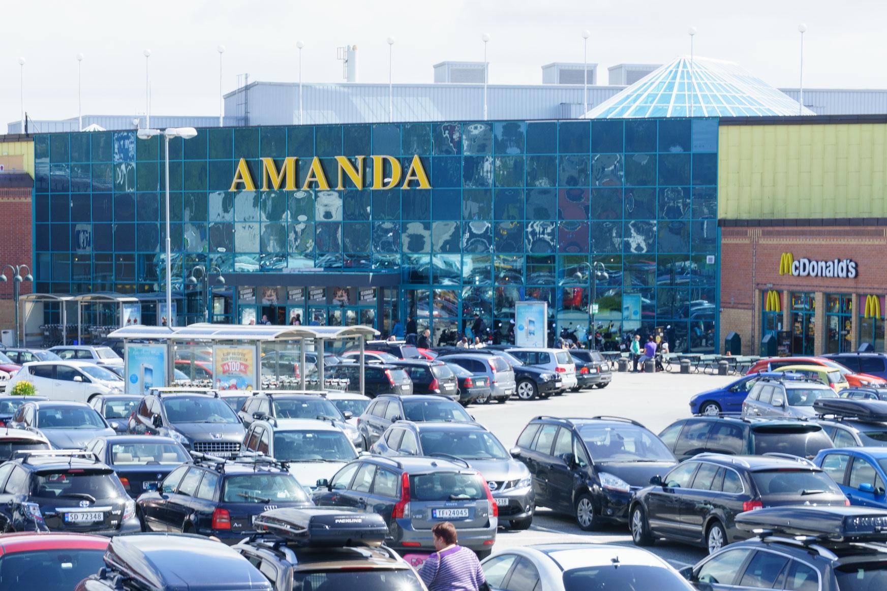 Amanda Einkaufszentrum