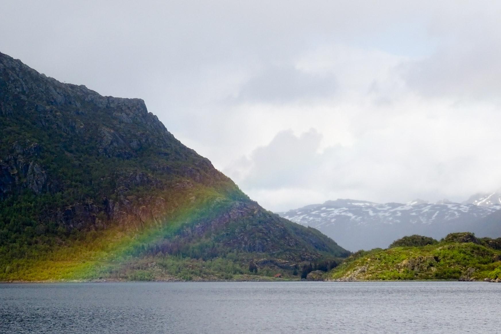 Kurz vorm Trollfjord