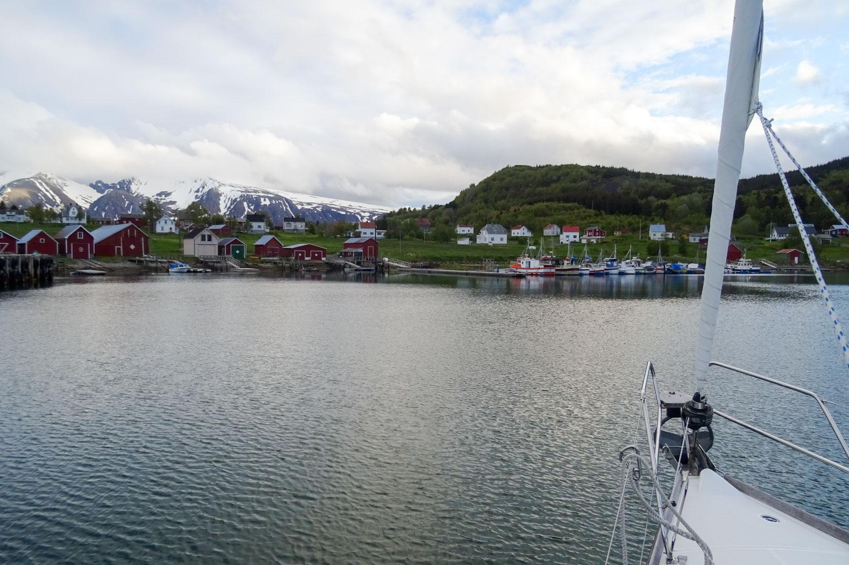 Nergardsvika auf Bjarkoy