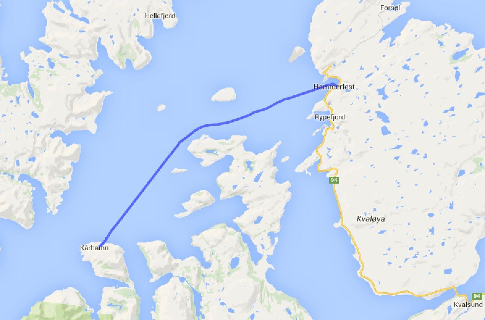 Karhamn - Hammerfest