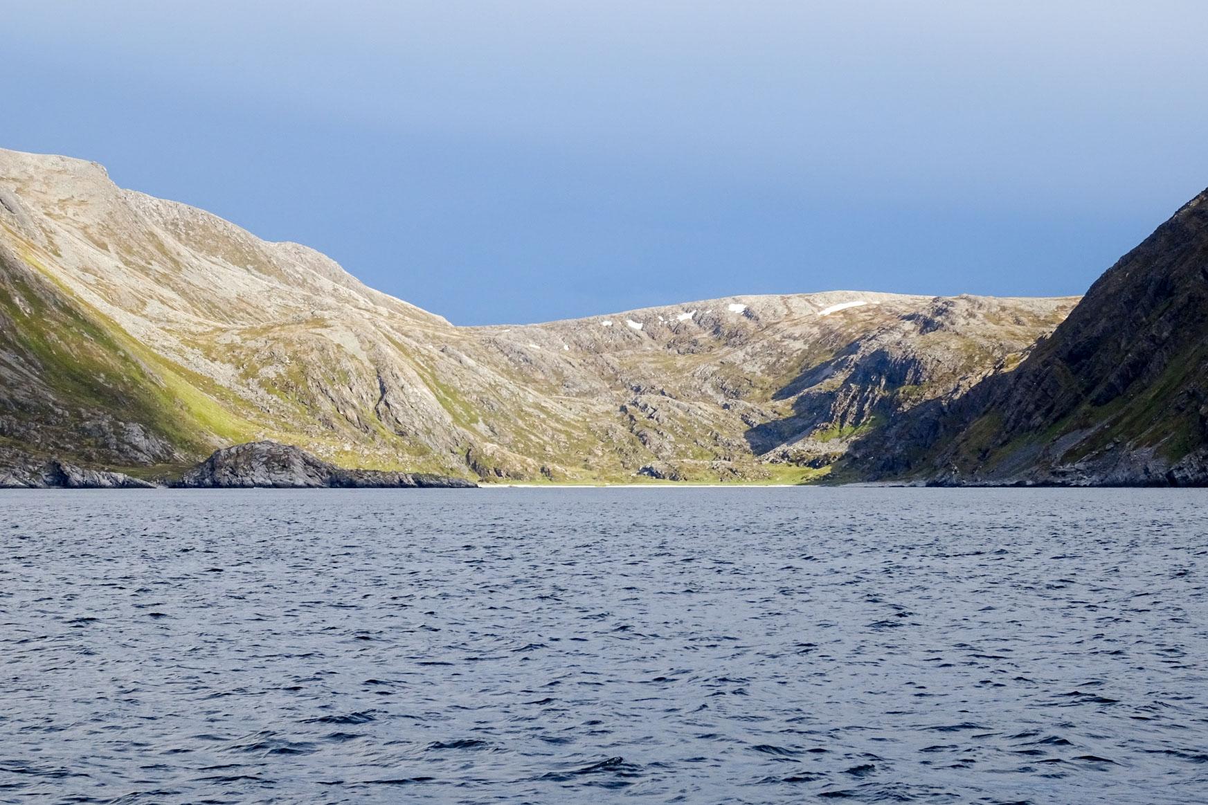Ankerbucht Saksafjorden