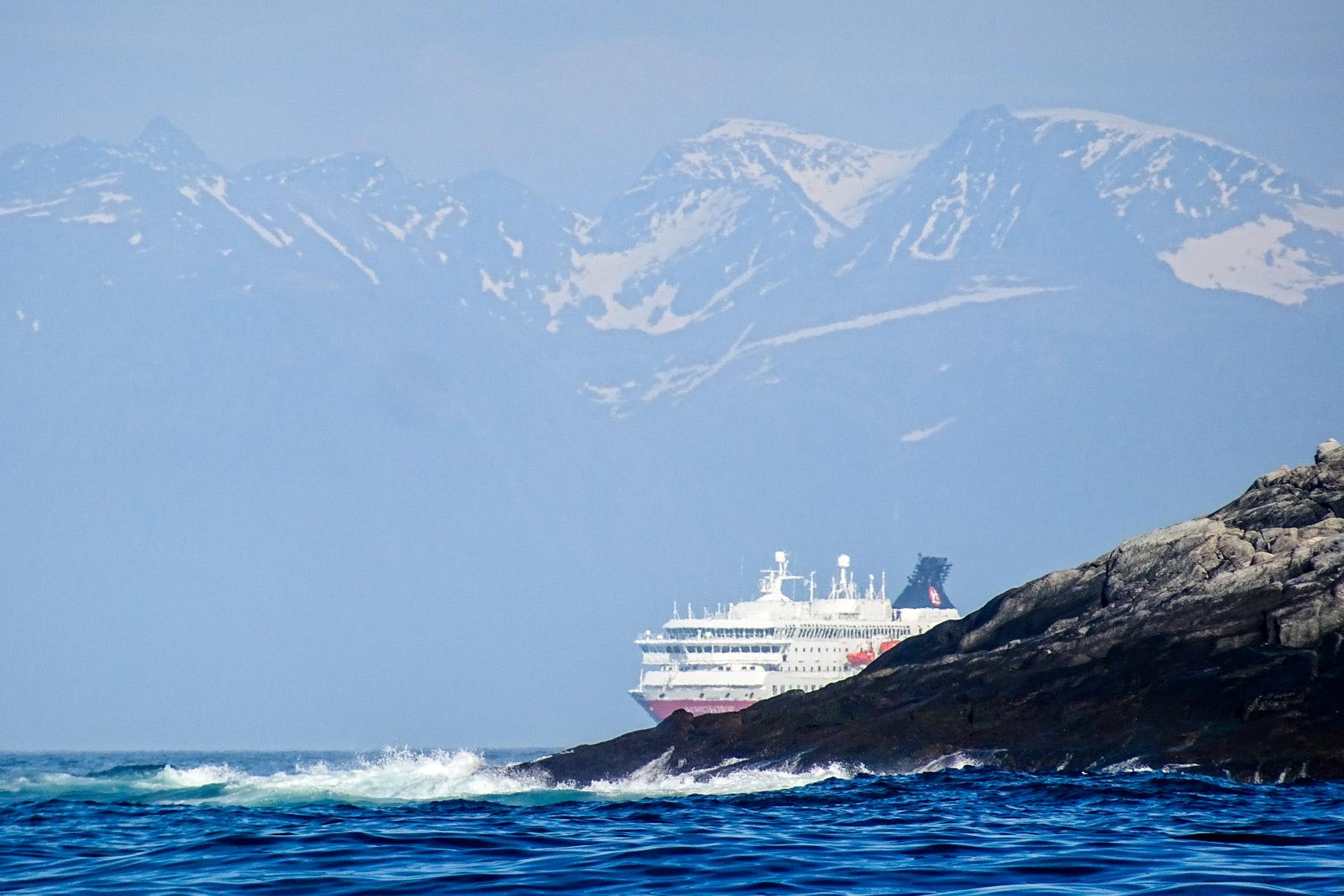 Mal wieder eine Hurtigrute - Nord Norge