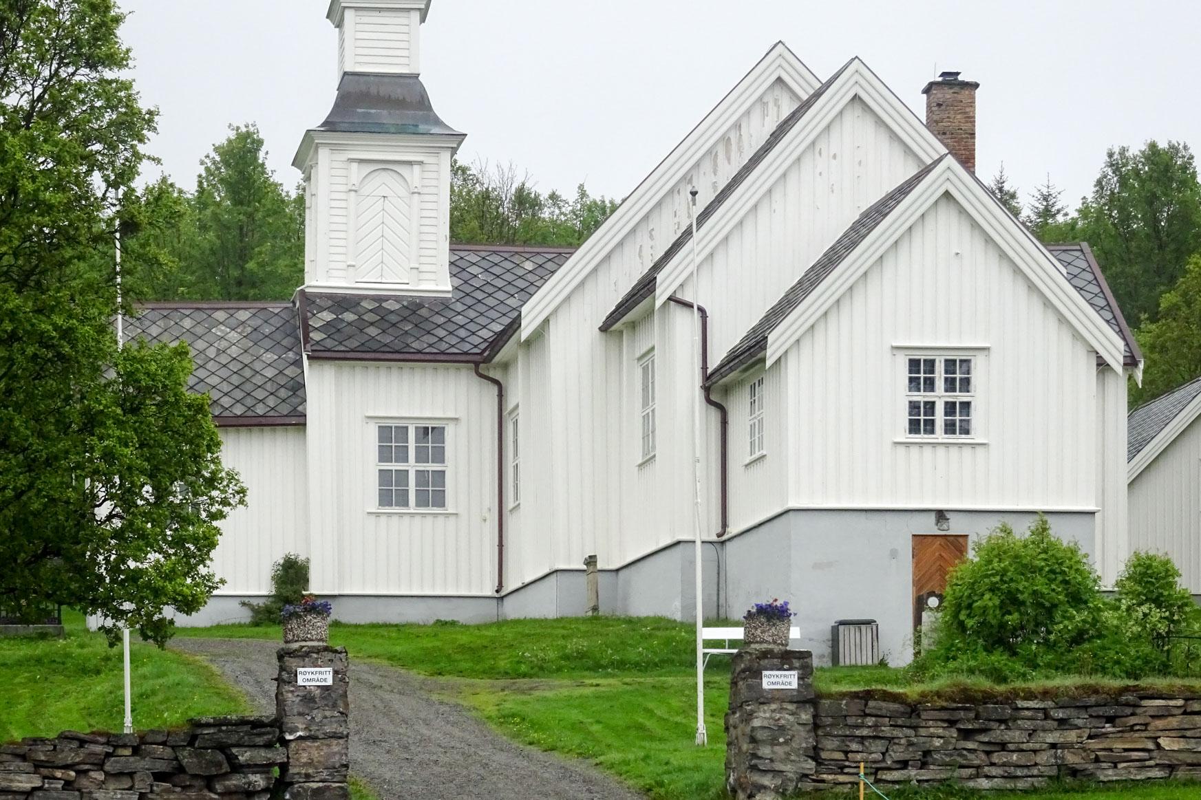 Kirche von Skjervoy