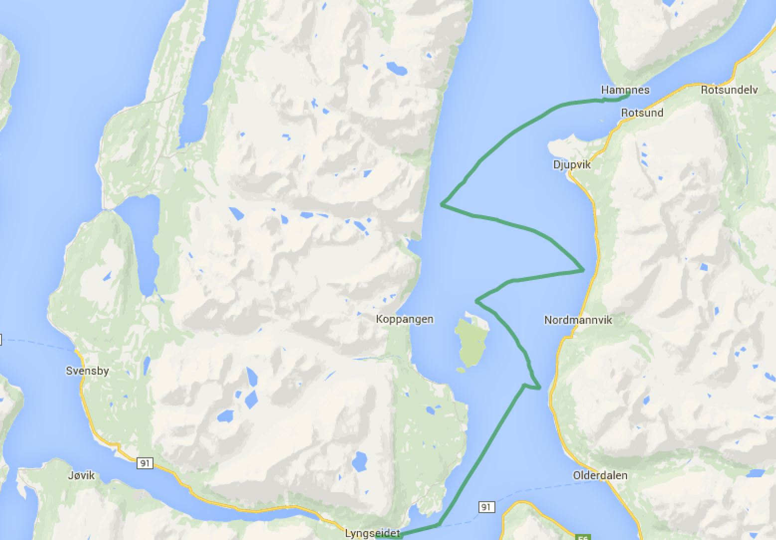 Havnnes - Lyngseidet