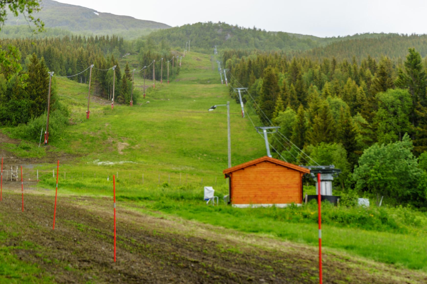 Auch Anfänger können hier Skilaufen