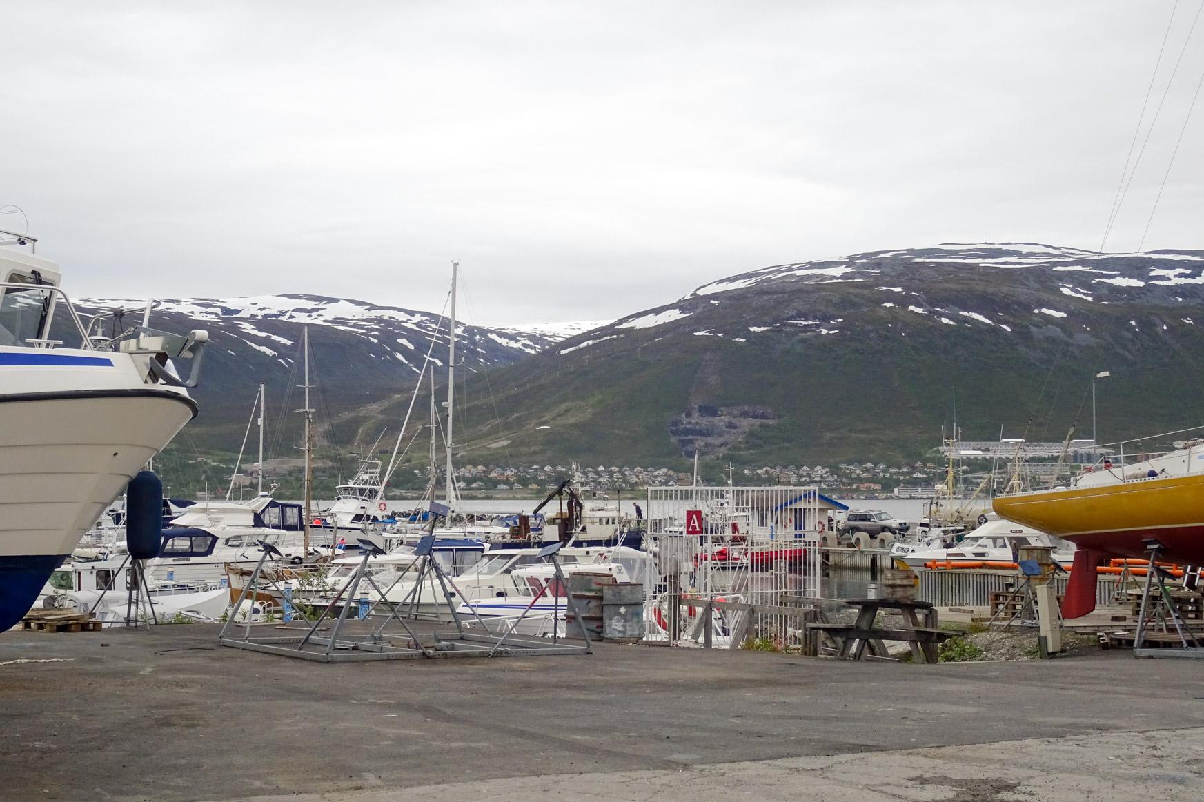 Skattora Marina in Tromsoe