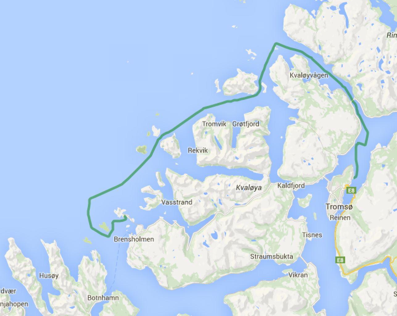 Tromsoe - Sommaroy