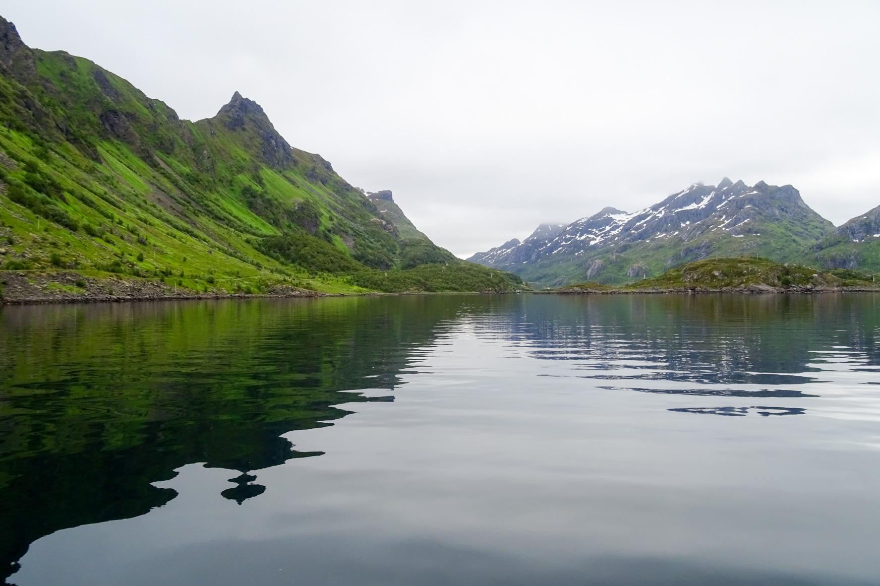 Ansteuerung Ingelsfjorden