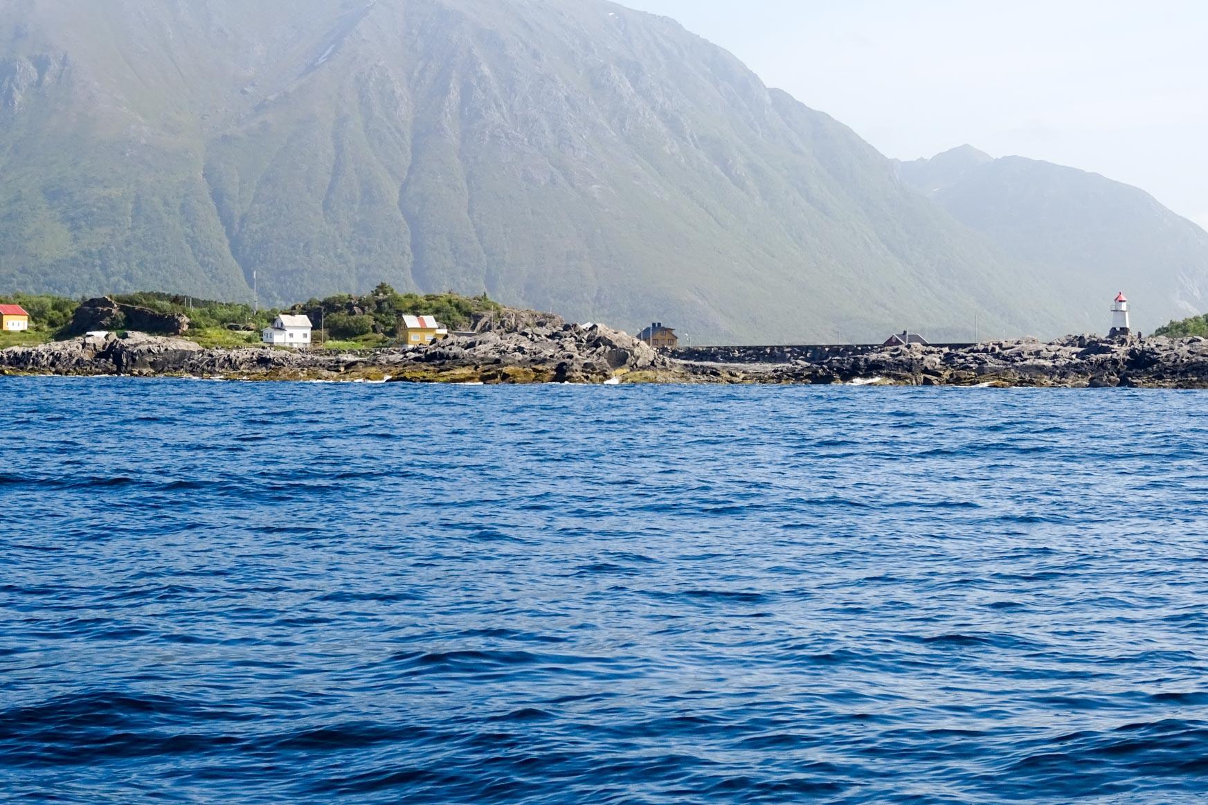 Hafenmole von Laukvik