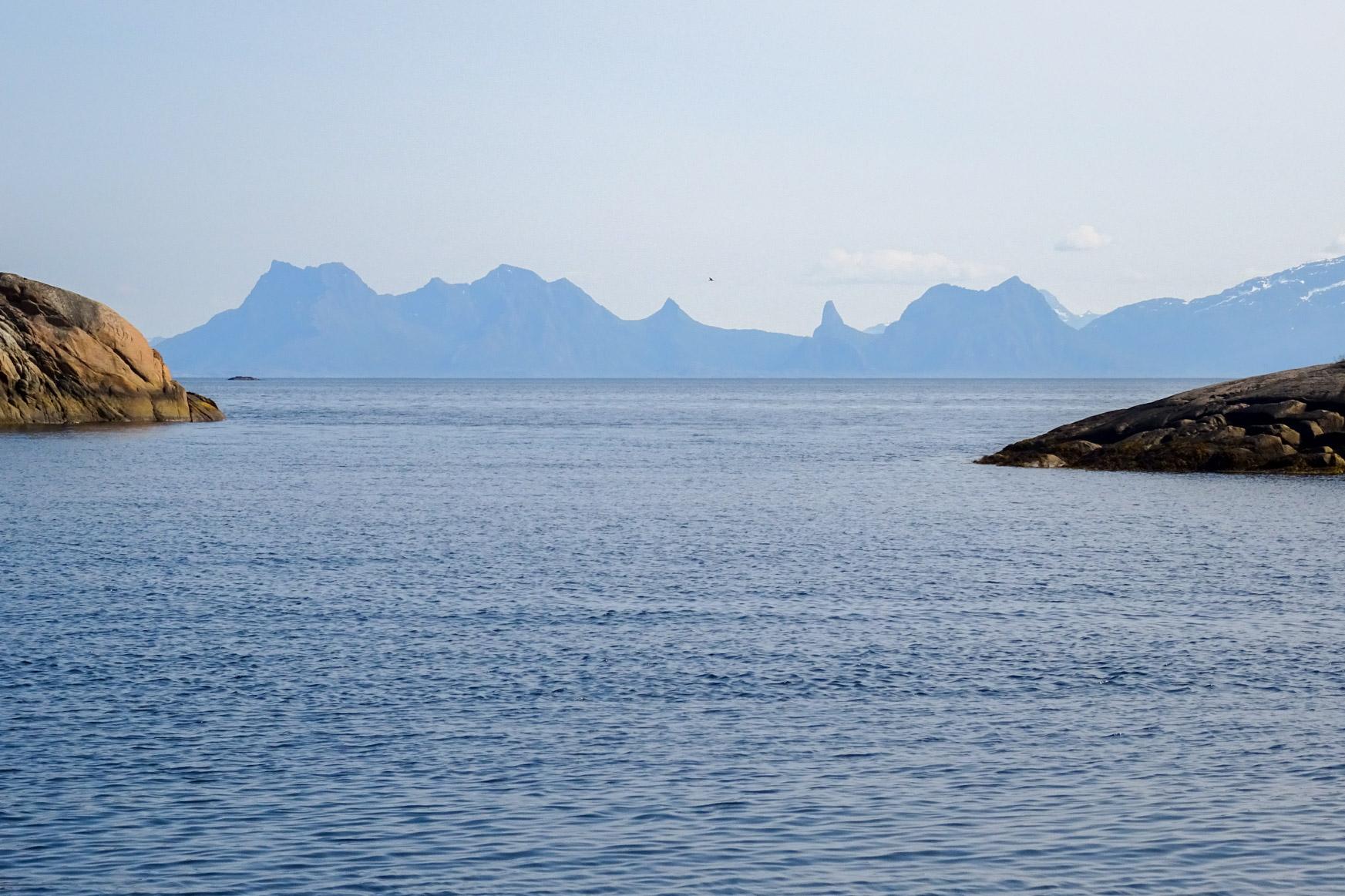 Blick aus der Bucht