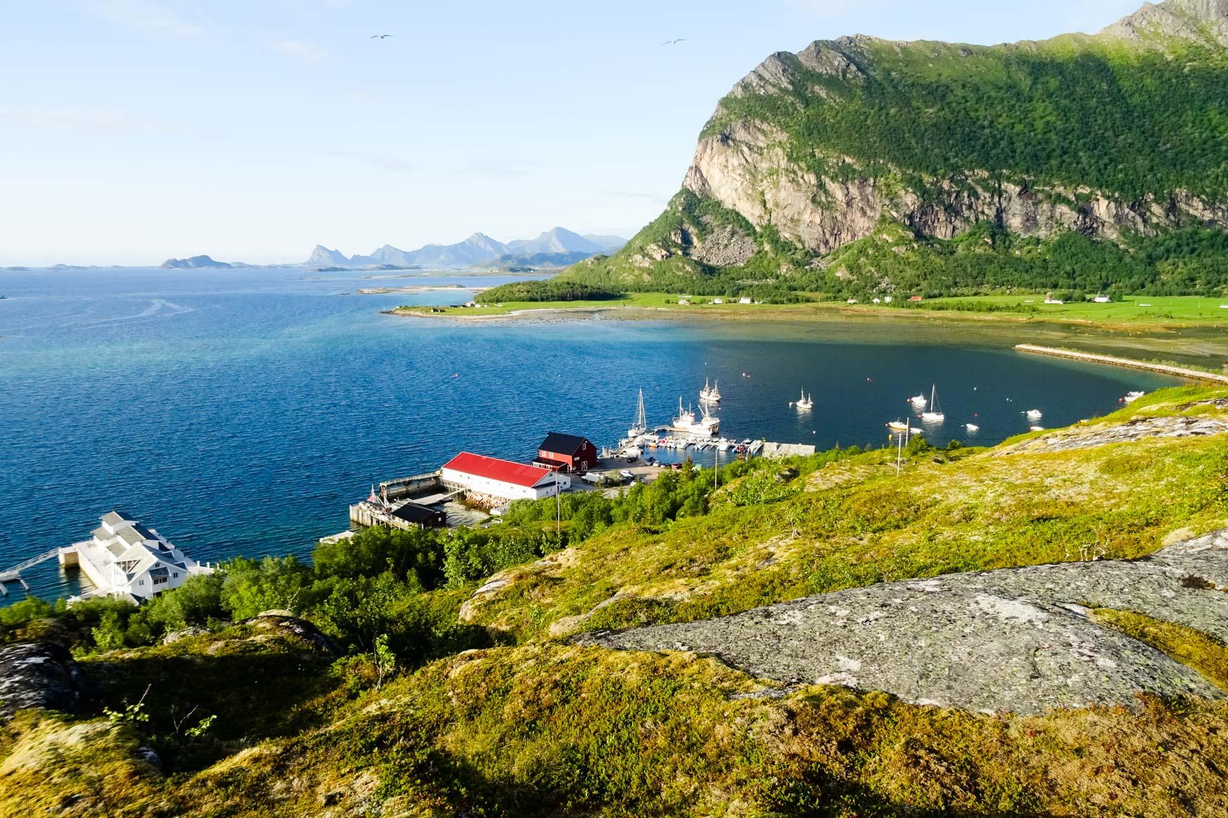 Festland und Lofoten