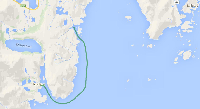 Straumoya - Nusfjord