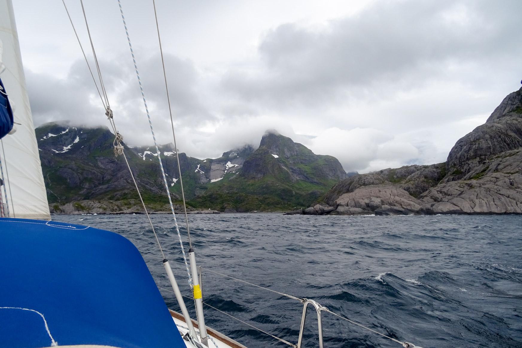 Einfahrt in den Fjord