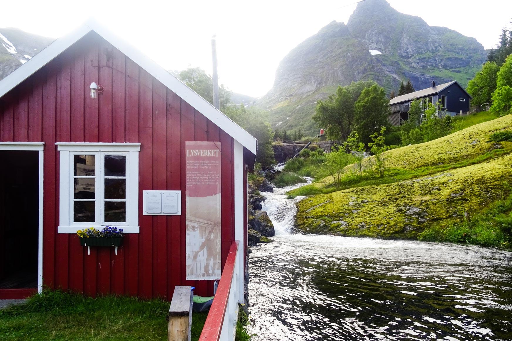 Kraftwerk von Nusfjord