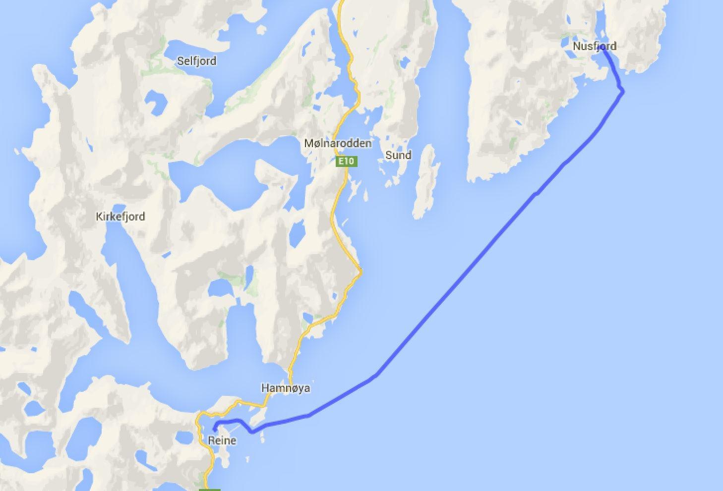 Nusfjord - Reine