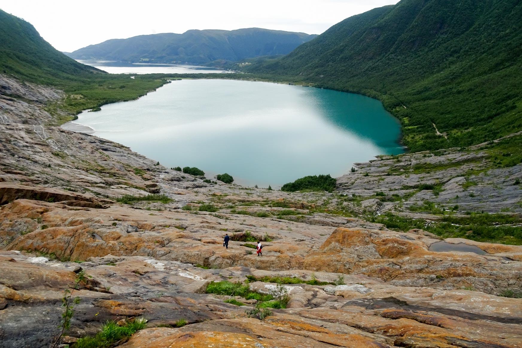 Gletschersee und Fjord