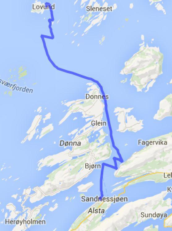 Lovund - Sandnessjøen