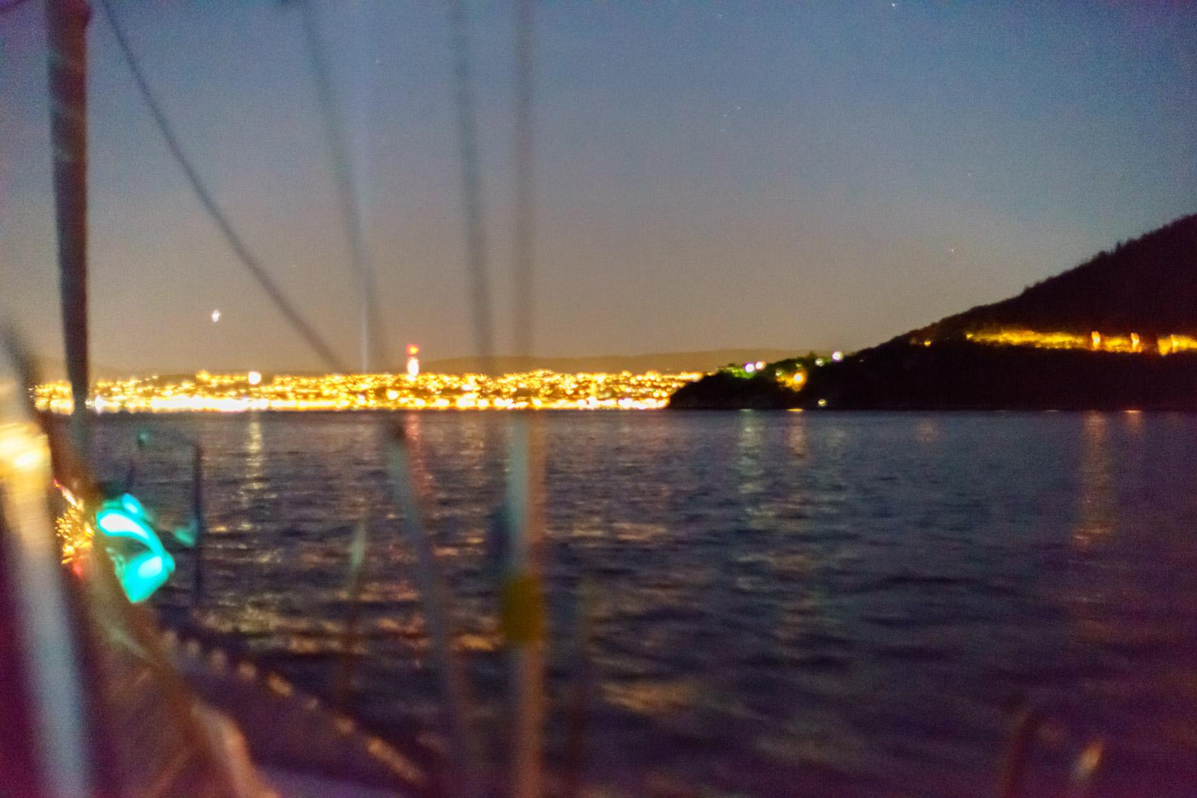 Trondheim bei Nacht