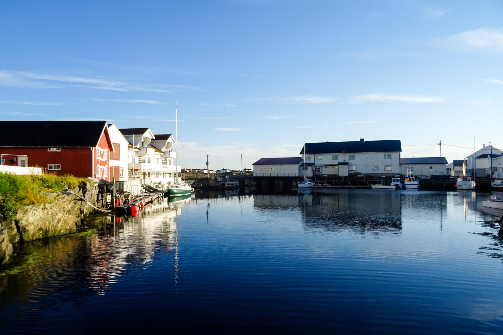 Hafen von Veiholmen
