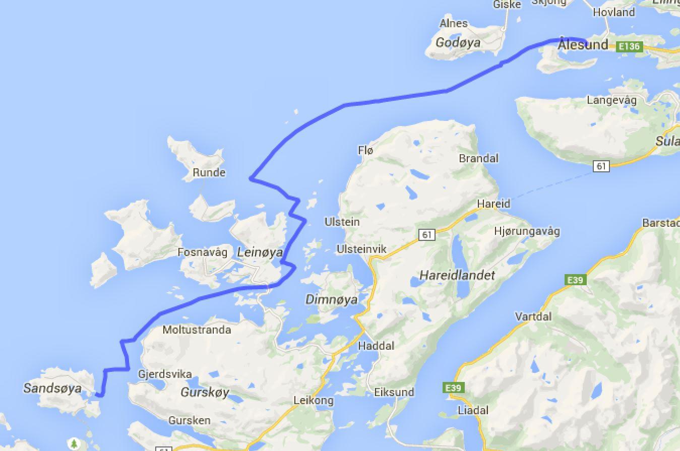 Ålesund - Sandshamn