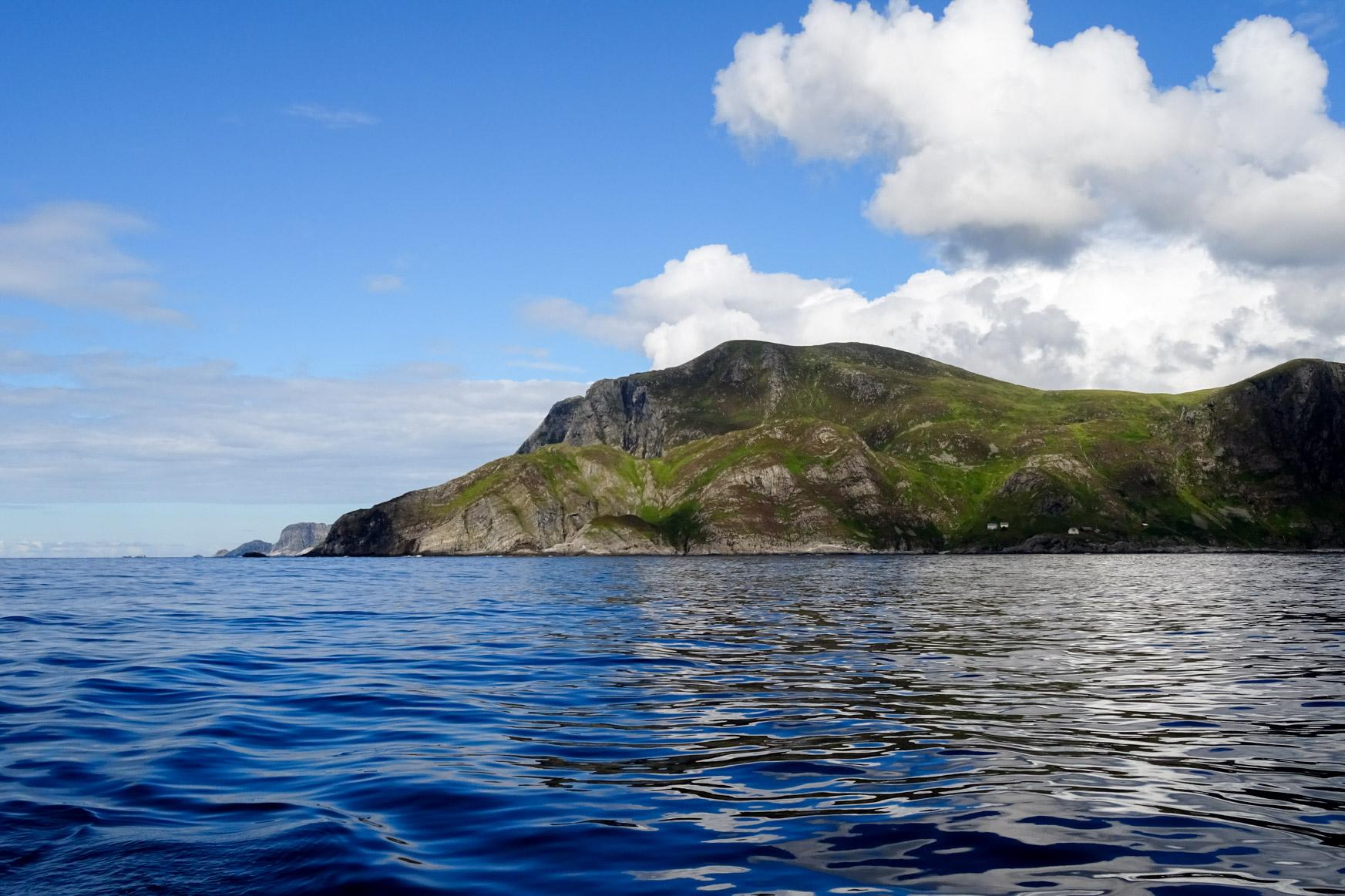Kap Stattlandet - heute ganz harmlos