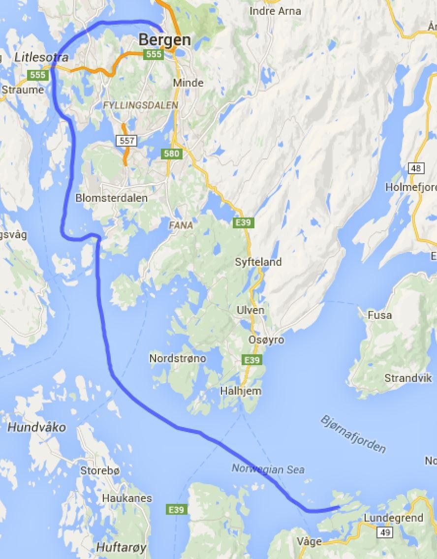 Bergen - Godoysund