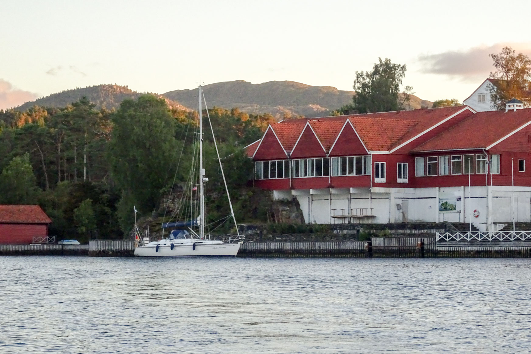 Liegeplatz im Godøysund